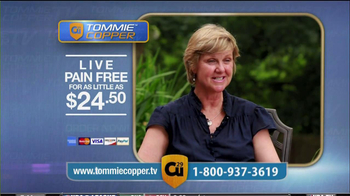 Tommie Copper Compression Sleeve TV Spot Featuring Montel Williams  - Thumbnail 8