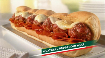 Subway Meatball Pepperoni Melt TV Spot, 'Italy Daydream: Gondola' - Thumbnail 10
