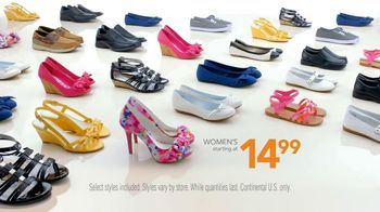 Payless Shoe Source Easter Sale TV Spot, 'The Look' - Thumbnail 9