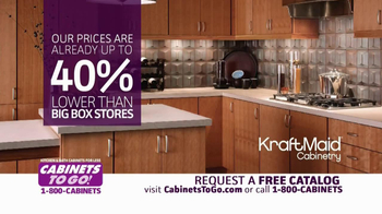 Cabinets To Go TV Spot, 'Free Upgrades' - Thumbnail 6