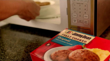 Jimmy Dean Fully Cooked Sausages TV Spot, 'Staring Contest' - Thumbnail 1