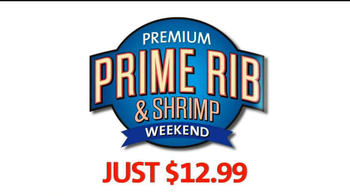 Golden Corral Prime Rib and Shrimp Weekend TV Spot
