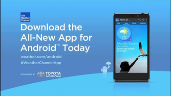 The Weather Channel App for Android TV Commercial - Video