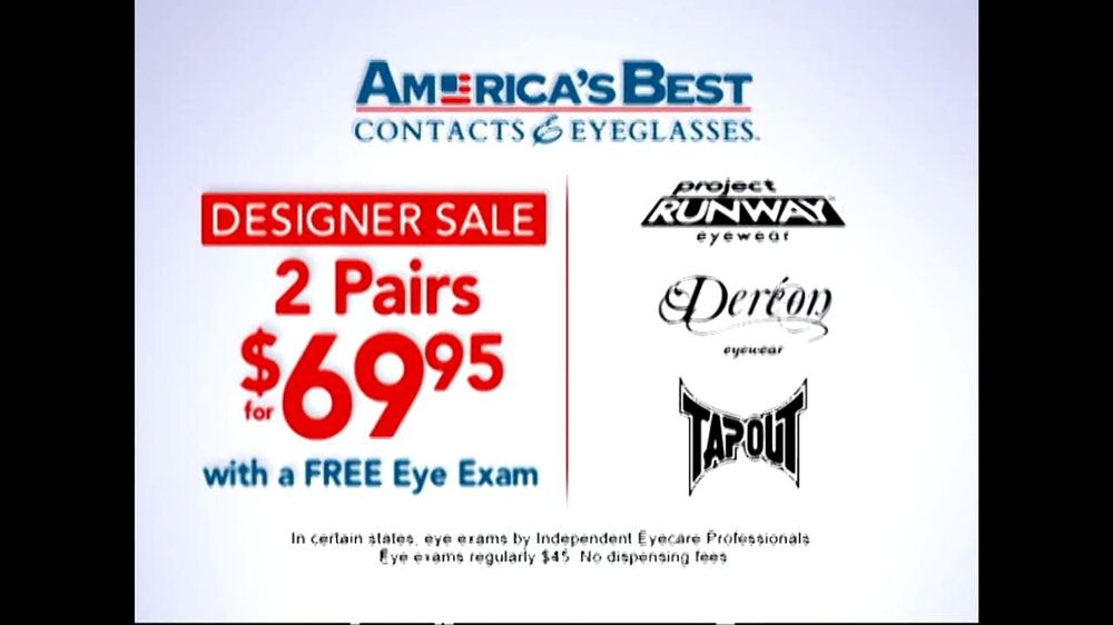 1 800 two pair eyeglasses american best