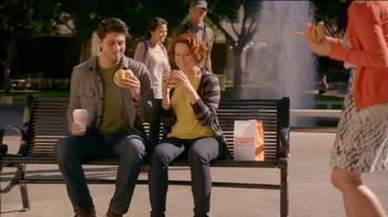 Dunkin' Donuts Angus Steak & Egg TV Spot, 'Fellow-Steak-Lover Handshake' - Thumbnail 1