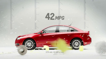 Chevrolet Cruze Eco TV Spot, 'Wind Test' - Thumbnail 7