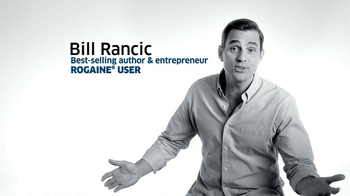 Rogaine Foam TV Spot Featuring Bill Rancic - Thumbnail 2