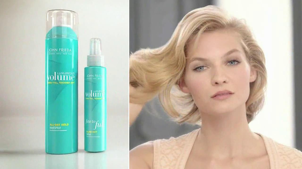 John Frieda Luxurious Volume Tv Commercial Finally Love