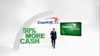 Capital One TV Spot, '50% More' Featuring Jimmy Fallon - Thumbnail 1