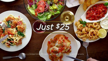 Olive Garden 3-Course Italian Dinner for Two TV Spot  - Thumbnail 9
