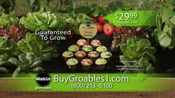 Miracle-Gro Gro-ables TV Spot  - Thumbnail 9
