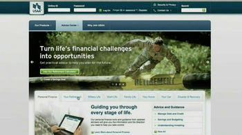USAA Retirement Guide TV Spot, 'Advice' - Thumbnail 2