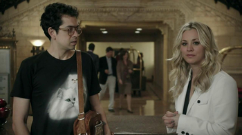 Priceline.com TV Spot, 'Cat Guy' Featuring Kaley Cuoco - Thumbnail 9