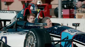 Honda Fastest Seat in Sports TV Spot, 'Two Seats' Featuring Mario Andretti - Thumbnail 1