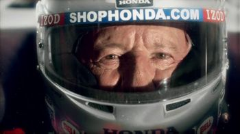 Honda Fastest Seat in Sports TV Spot, 'Two Seats' Featuring Mario Andretti - Thumbnail 9