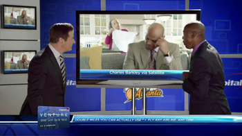 Capital One Venture TV Spot Featuring Alec Baldwin and Charles Barkley - Thumbnail 6
