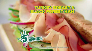 Subway $5 Regular Footlongs TV Spot  - Thumbnail 7