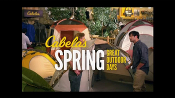 Cabela's Spring Outdoor Days TV Spot