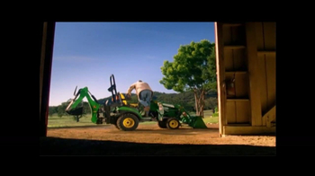 John Deere Sub-Compact Tractor TV Spot, 'Get a Load of This' - Thumbnail 2