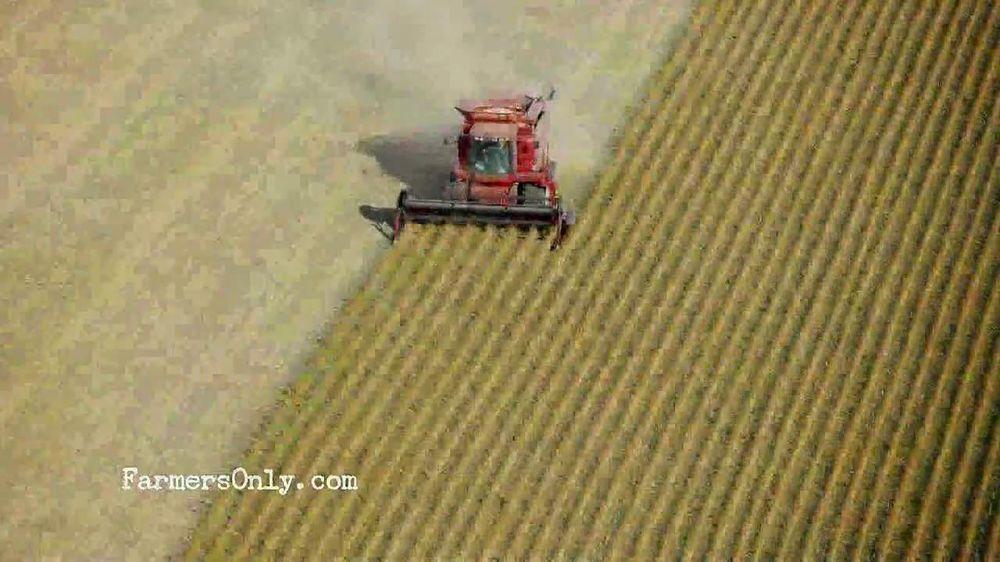 Farmer online dating commercial