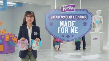 Huggies Pull-Ups TV Spot, 'Big Kid Academy Lessons: Made for Me' - Thumbnail 2