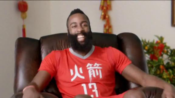 NBA 2015 Chinese New Year TV Spot, 'Surprise Door' Featuring James Harden - Thumbnail 7