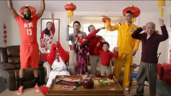 NBA 2015 Chinese New Year TV Spot, 'Surprise Door' Featuring James Harden - Thumbnail 8