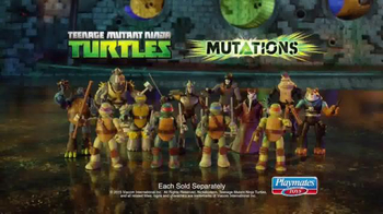 Teenage Mutant Ninja Turtles Mutations TV Spot, 'Gear Up'