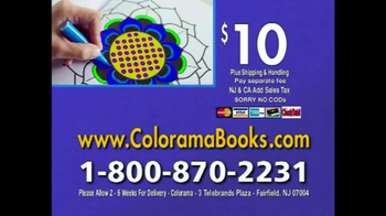 Colorama Books TV Spot, 'Beautiful and Relaxing' - Thumbnail 10