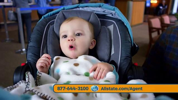 Allstate Safe Driving Bonus Check TV Spot, 'Baby Deposit and Teens' - 11337 commercial airings