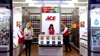 ACE Hardware TV Spot, 'The Paint Studio: Helpful Is Beautiful'