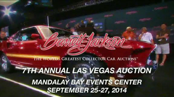 Barrett Jackson 7th Annual Las Vegas Auction Tv Spot Ispot Tv