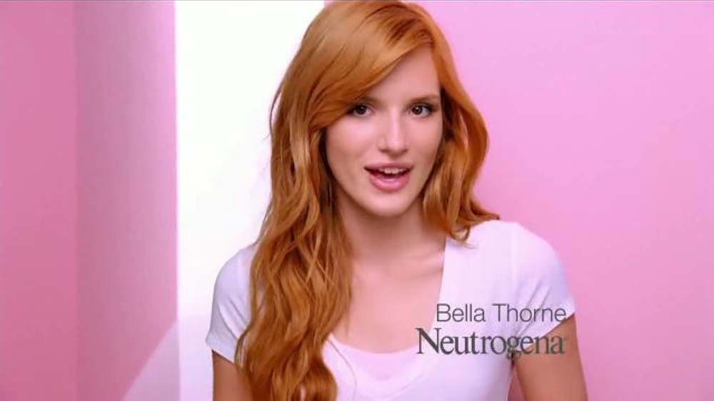 Neutrogena Oil-Free Acne Wash TV Commercial Con Bella Thorne