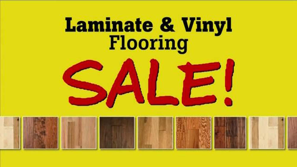 Lumber Liquidators Laminate Amp Vinyl Flooring Sale Tv Spot