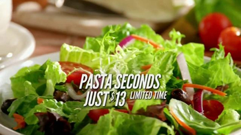 Carrabba's Grill Pasta Seconds TV Spot, 'For Yourself or to Share'