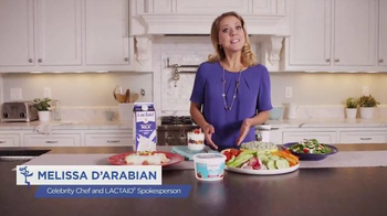 Lactaid Cottage Cheese TV Spot, 'Family' Featuring Melissa D'Arabian