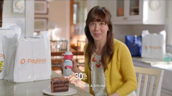 Payless Shoe Source Semi-Annual Sale TV Spot, 'Have Your Cake'