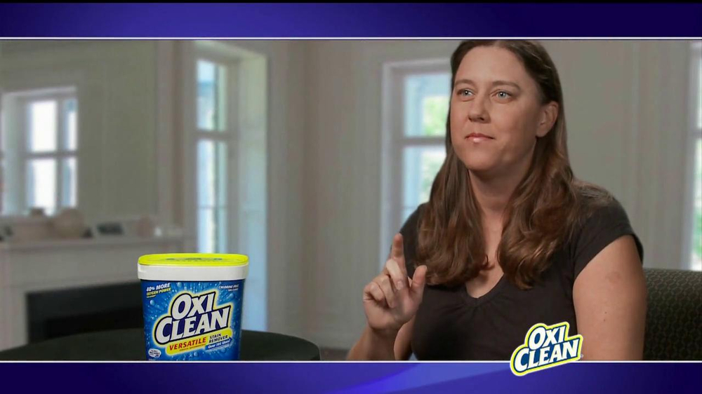 Oxiclean Tv Commercial Versatile Stain Remover Ispot Tv
