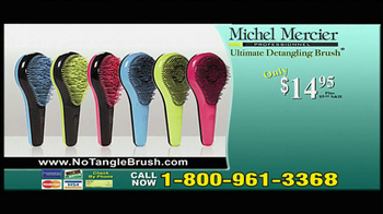 Michel Mercier TV Spot for Ultimate Detangling Brush - Thumbnail 8