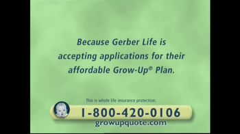 Gerber TV Spot For Grow-Up Plan - Thumbnail 3