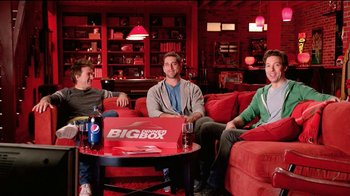 Pizza Hut Big Dinner Box TV Spot, 'Man Cave' Featuring Aaron Rodgers