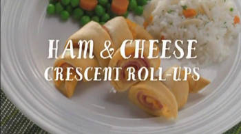Pillsbury Crescent TV Spot, 'Add Ham and Cheese'