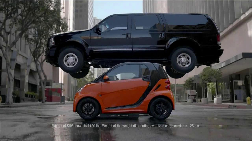 smart cars tv commercial stacking ispottv