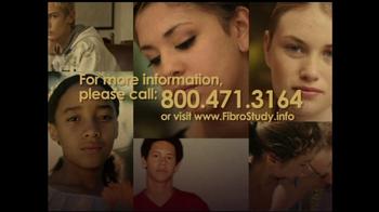 Juvenile Fibromyalgia Fibro Study TV Spot