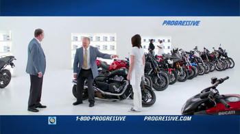 Progressive TV Spot, 'Falling Motorcycles' - 8412 commercial airings
