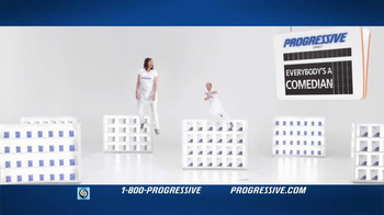 Progressive TV Spot, 'Gravity Reversal Board' - 10170 commercial airings