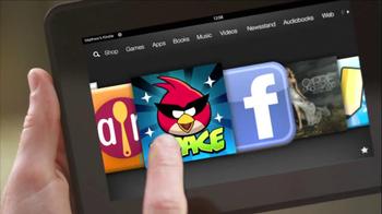 Amazon Kindle Fire HD TV Spot - Thumbnail 8