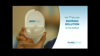 PureSleep TV Spot, \'No More Snoring\'