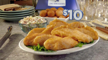 Long John Silver's $10 Chicken Family Pack TV Spot