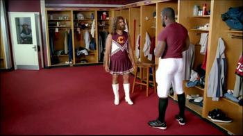GEICO TV Spot, 'Cheerleader Caveman' Featuring Brian Orakpo - Thumbnail 4